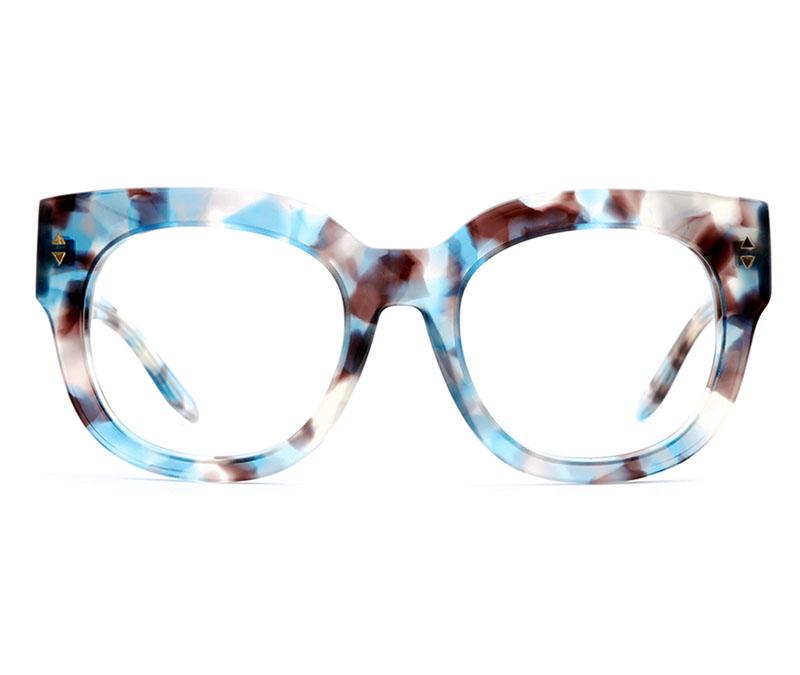 Alexis Amor Jojo frames in Blue Havana Tortoise