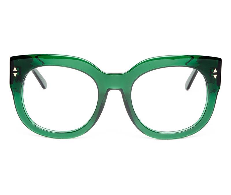 Alexis Amor Jojo frames in Deepest Dark Emerald