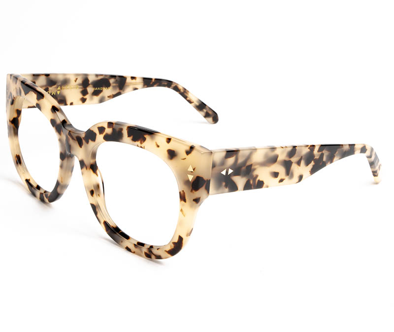 Alexis Amor Jojo frames in Opal Tortoise