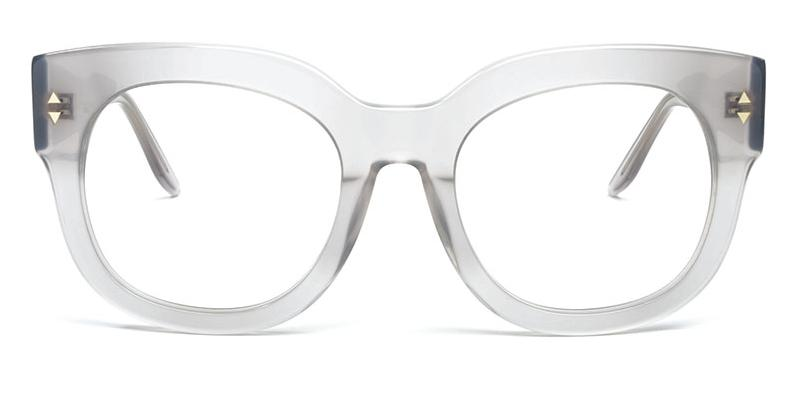Alexis Amor Jojo SALE frames in Darkly Ice Grey