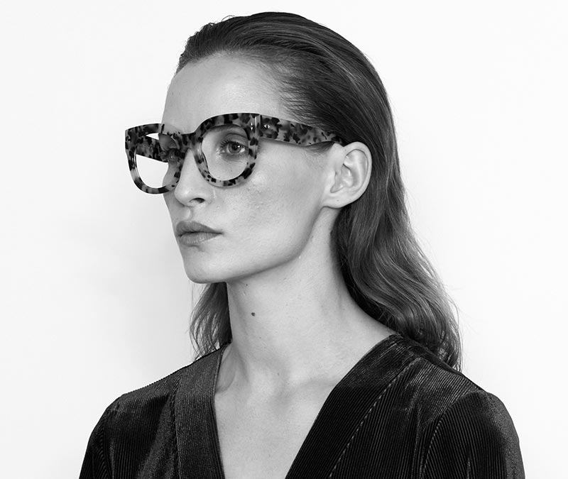 Alexis Amor Jojo X frames in Gloss Piano Black