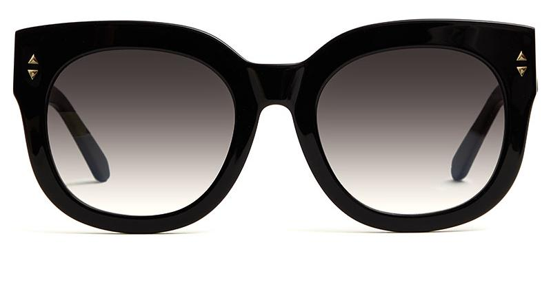 Alexis Amor Jojo X sunglasses in Gloss Piano Black