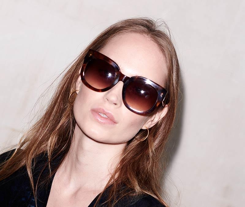 Alexis Amor Jojo X sunglasses in Super Luxe Havana