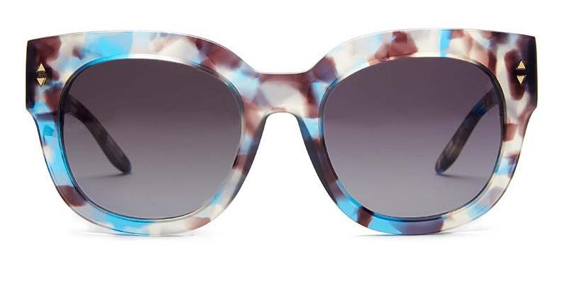 Alexis Amor Jojo sunglasses in Blue Havana Tortoise