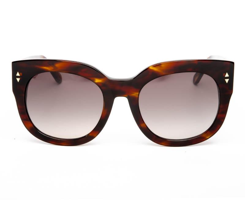 Alexis Amor Jojo sunglasses in Caramel Havana Stripe
