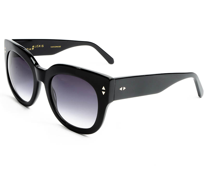Alexis Amor Jojo sunglasses in Gloss Piano Black