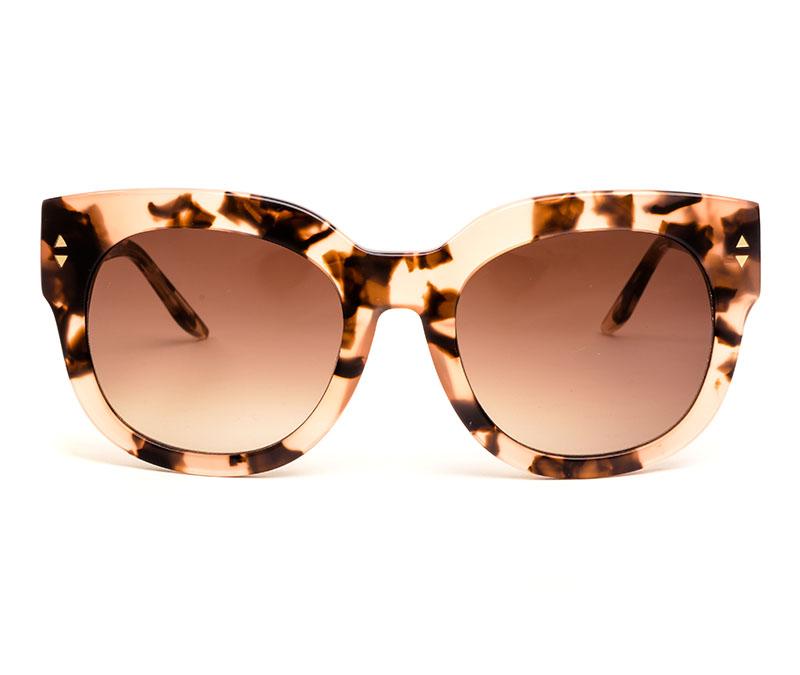 Alexis Amor Jojo sunglasses in Rose Havana Quartz