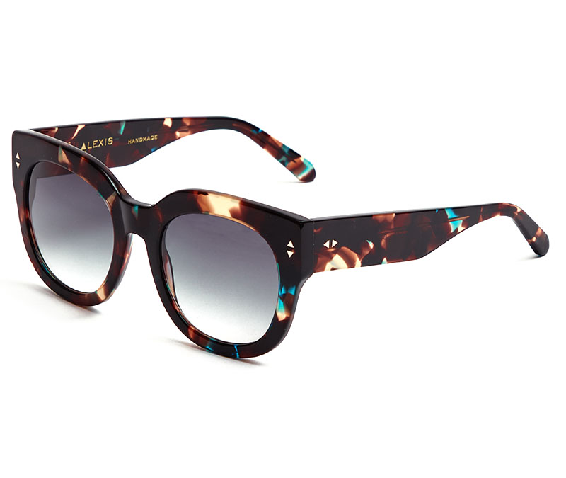 Alexis Amor Jojo sunglasses in Topaz Tortoise