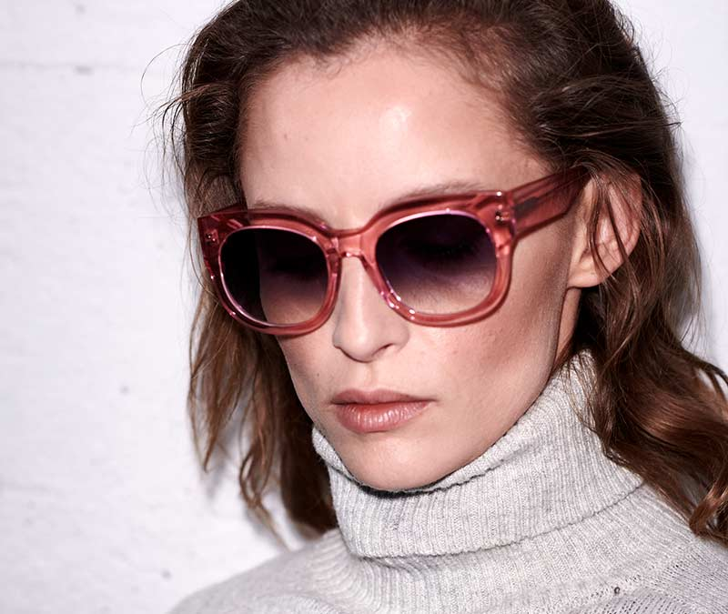 Alexis Amor Jojo sunglasses in Vivid Pink Dream