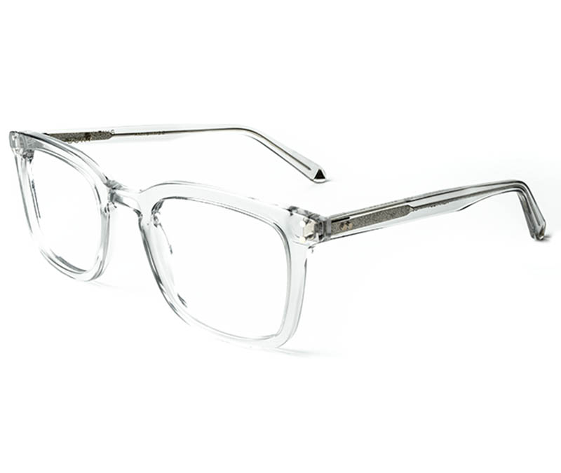 Alexis Amor Kennedy frames in Light Grey Crystal