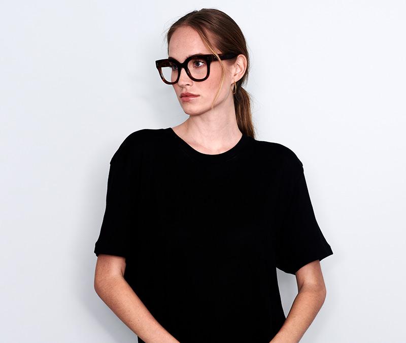 Alexis Amor Kiki frames in Gloss Piano Black