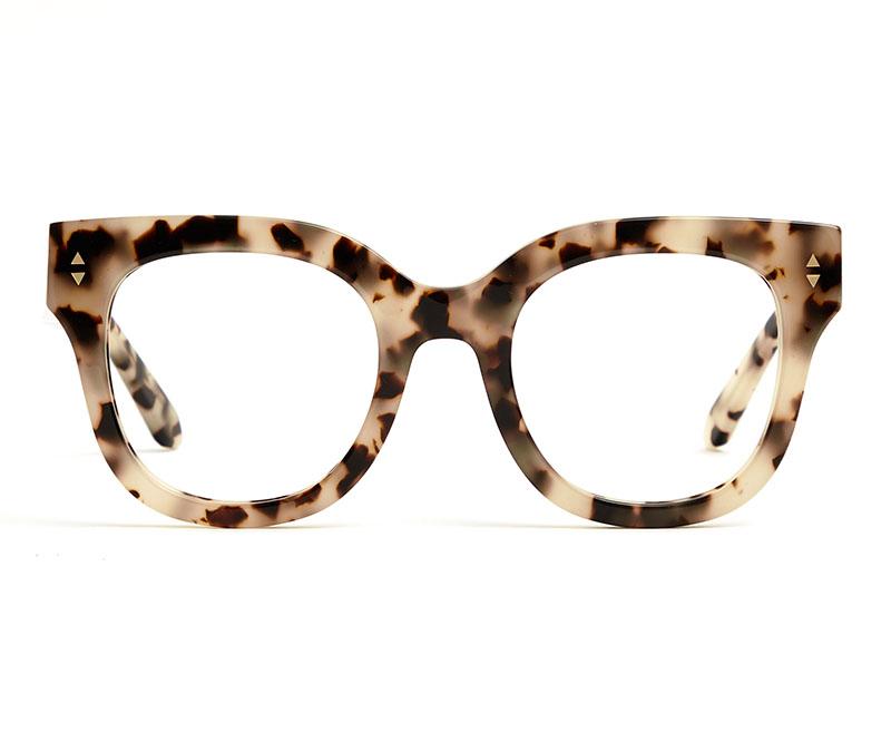 Alexis Amor Kiki frames in Opal Tortoise