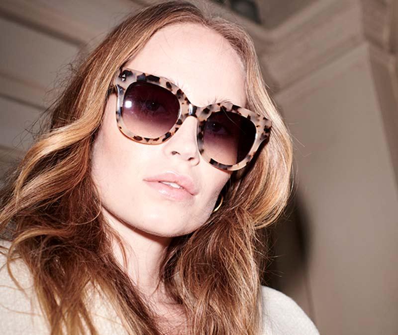 Alexis Amor Kiki sunglasses in Gloss Piano Black