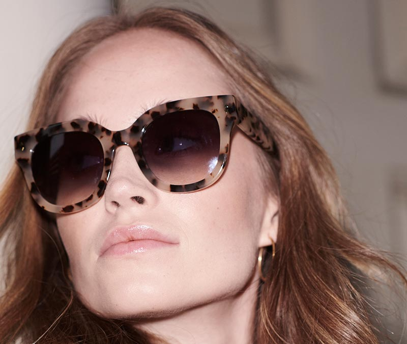 Alexis Amor Kiki sunglasses in Opal Tortoise