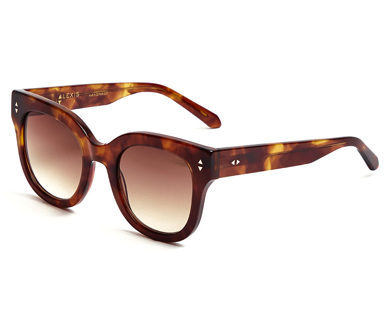 Alexis Amor Kiki sunglasses in Super Luxe Havana
