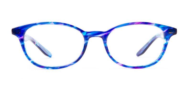 Alexis Amor Kitty frames in Blueberry Stripe