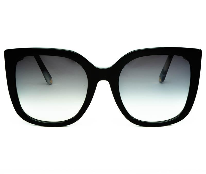Alexis Amor Orla sunglasses in Gloss Piano Black + Marble