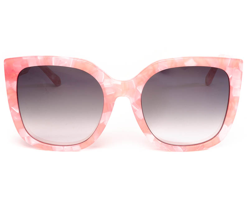 Alexis Amor Orla sunglasses in Hot Pink Marble