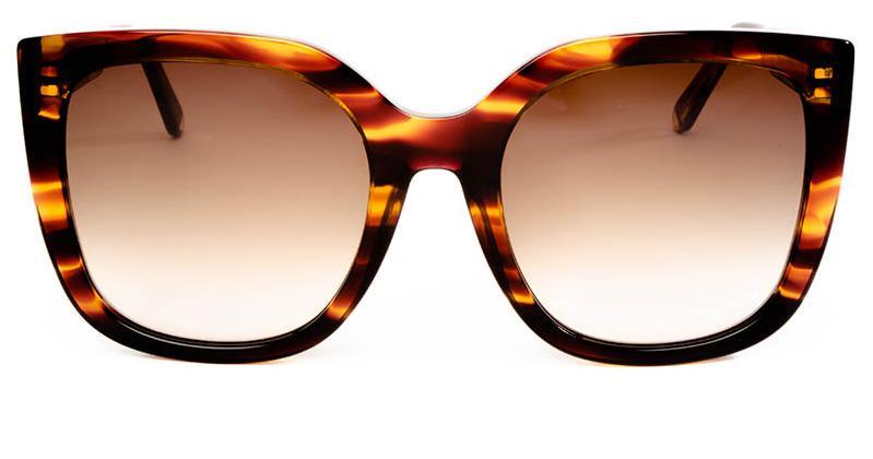 Alexis Amor Orla sunglasses in Smooth Caramel Stripe