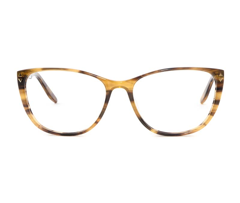 Alexis Amor Lola SALE frames in Brown Mid Stripe