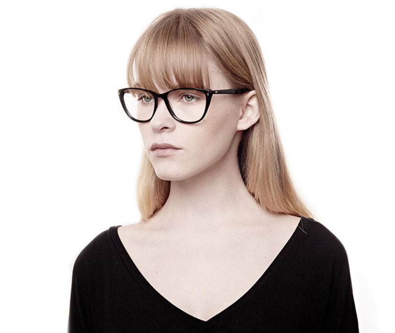 Alexis Amor Lola frames in Gloss Piano Black