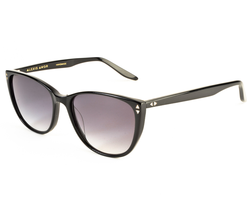 Alexis Amor Lola sunglasses in Gloss Piano Black