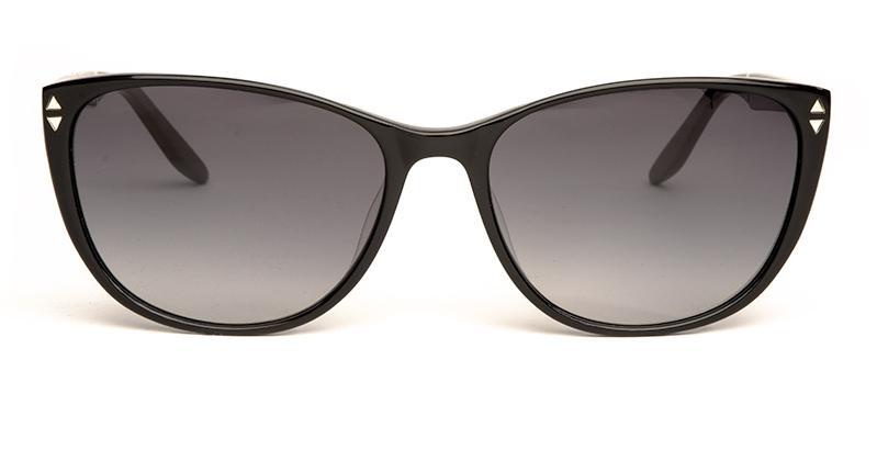 Alexis Amor Lola sunglasses in Gloss Piano Black