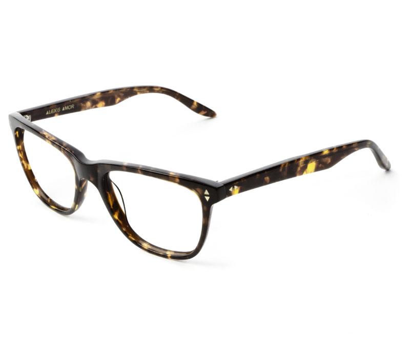Alexis Amor Luce SMALL SALE frames in Autumn Chestnut Havana