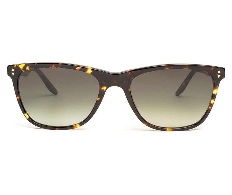 Alexis Amor Luce Large SALE sunglasses in Gloss Black Amber Fleck