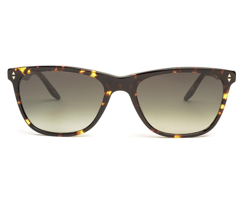 Alexis Amor Luce Large sunglasses in Gloss Black Amber Fleck
