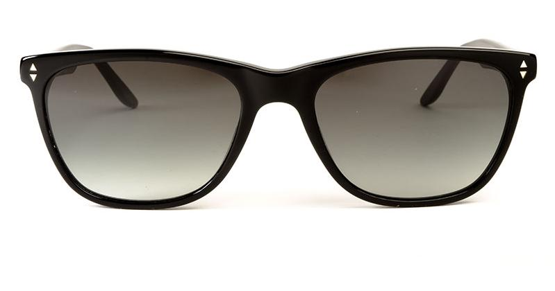 Alexis Amor Luce Large sunglasses in Gloss Piano Black