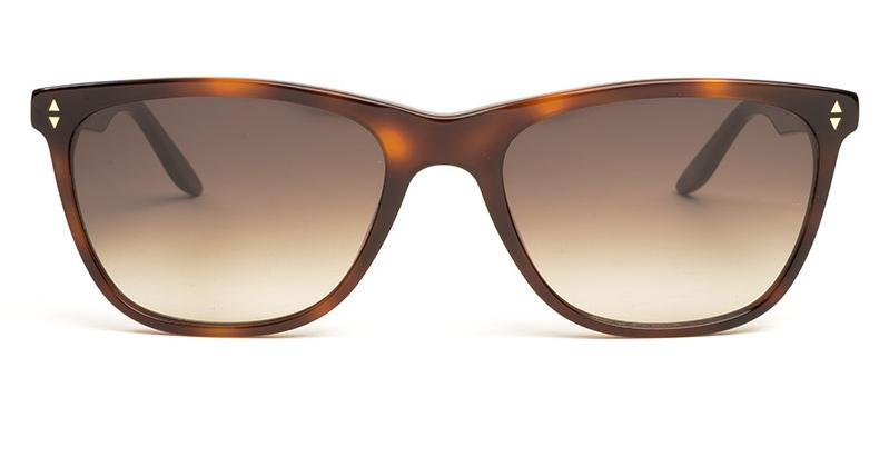 Alexis Amor Luce Large sunglasses in Warm Havana Glow