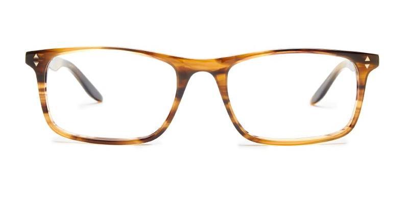 Alexis Amor Oscar frames in Brown Multi Stripe