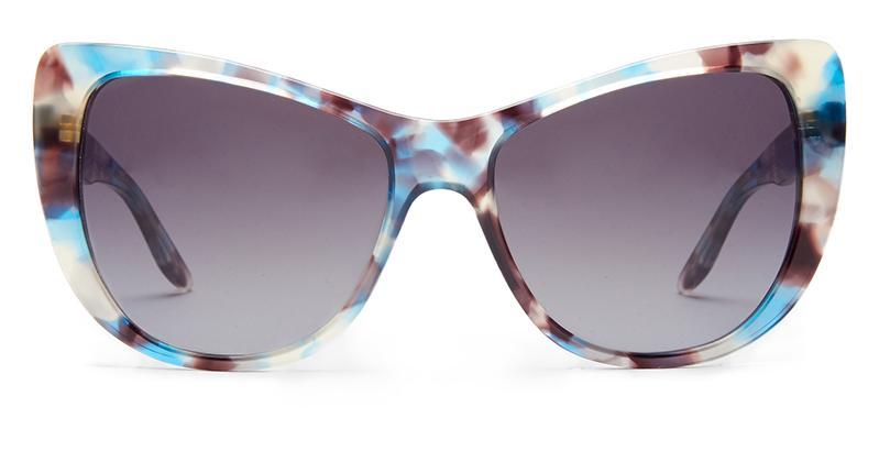 Alexis Amor Ottilie sunglasses in Blue Havana Tortoise