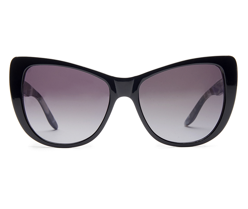Alexis Amor Ottilie SALE sunglasses in Gloss Piano Black Marble