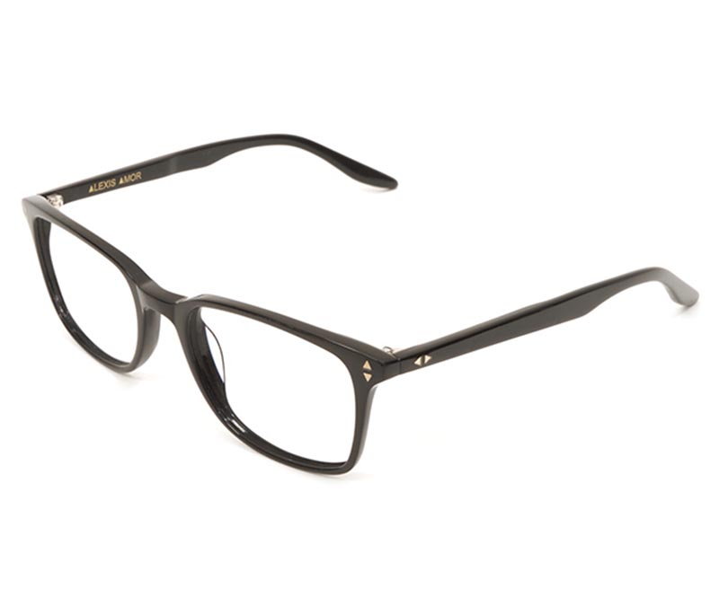 Alexis Amor Quinn frames in Gloss Piano Black