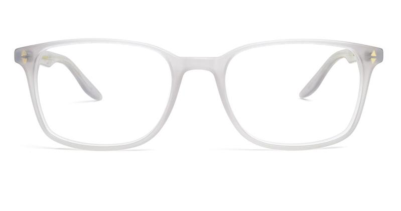 Alexis Amor Quinn Large frames in Matte Darkly Ice Grey