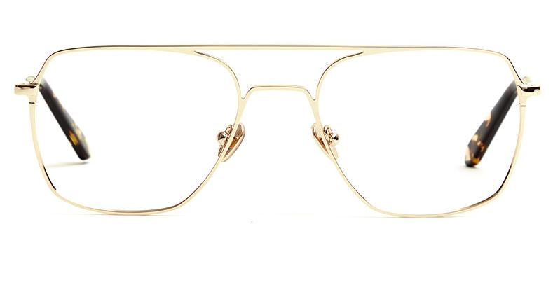 Alexis Amor Rex frames in Mirror Gold