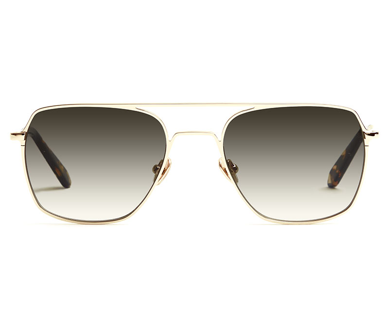 Alexis Amor Rex sunglasses in Mirror Gold