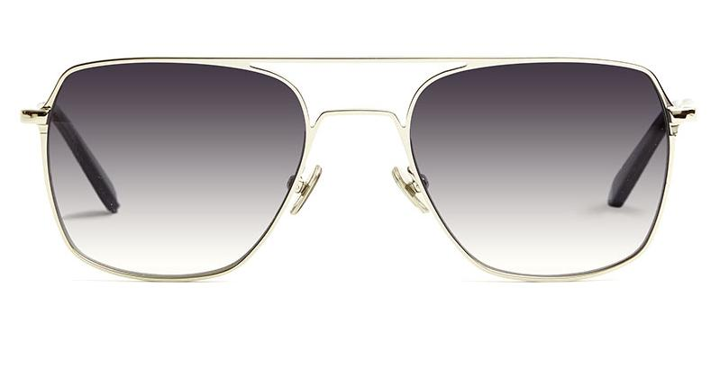 Alexis Amor Rex sunglasses in Mirror Silver