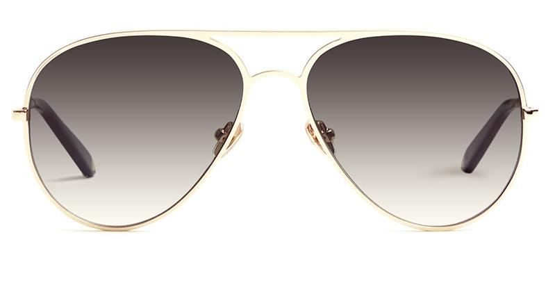 Alexis Amor Sacha sunglasses in Mirror Gold