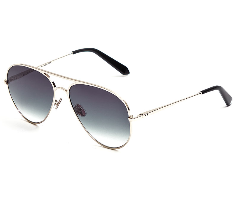 Alexis Amor Sacha sunglasses in Mirror Silver