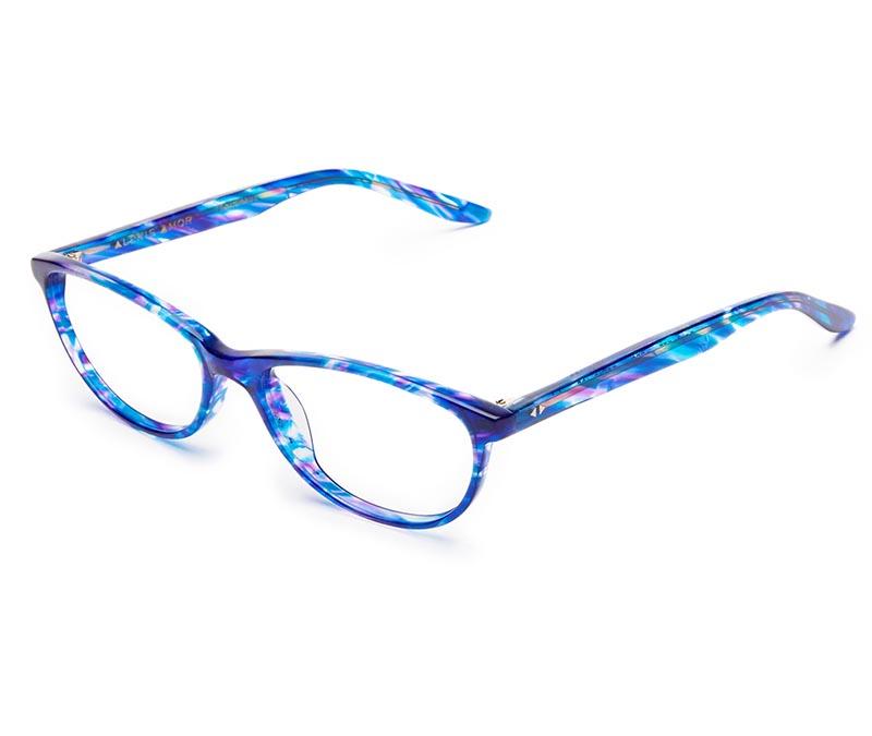 Alexis Amor Scarlett SALE frames in Blueberry Stripe