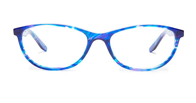 Alexis Amor Scarlett SALE frames in Blueberry Stripe