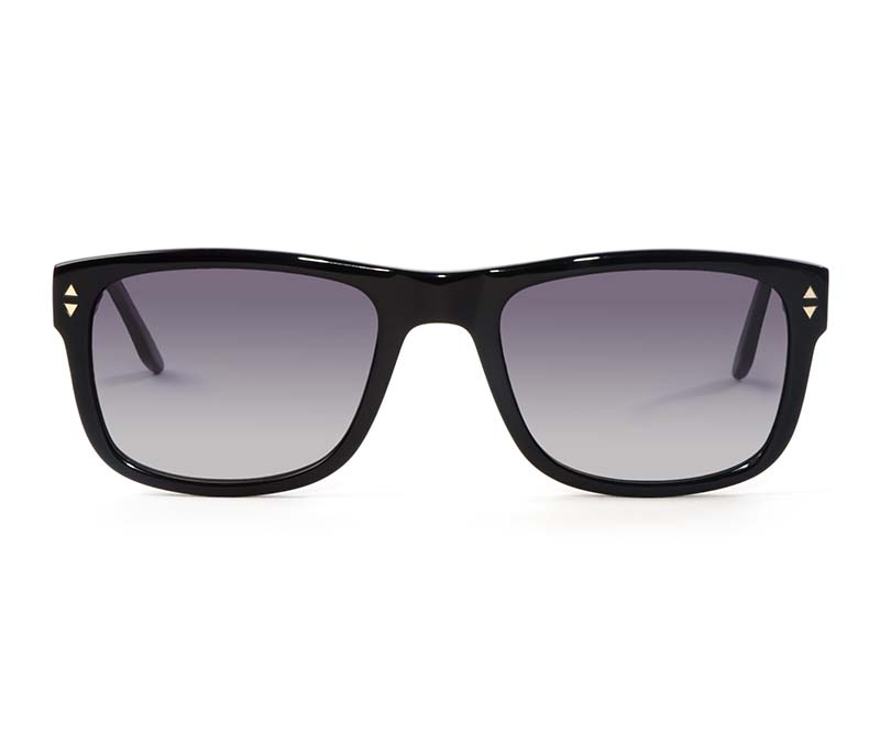 Alexis Amor Spike II sunglasses in Gloss Piano Black