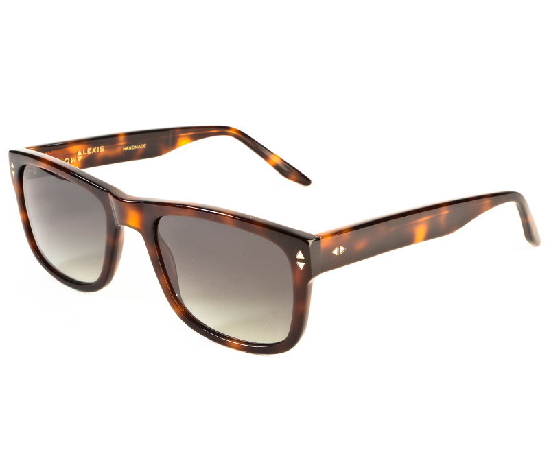 Alexis Amor Spike II sunglasses in Warm Havana Glow