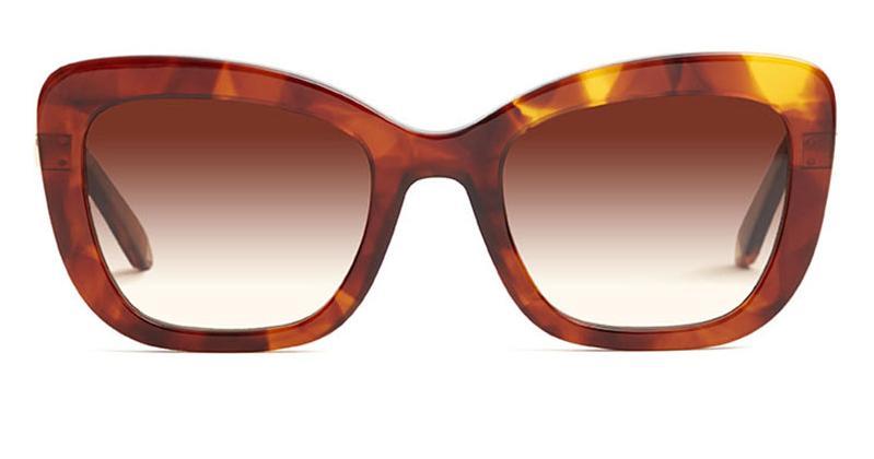 Alexis Amor Suki sunglasses in Super Luxe Havana