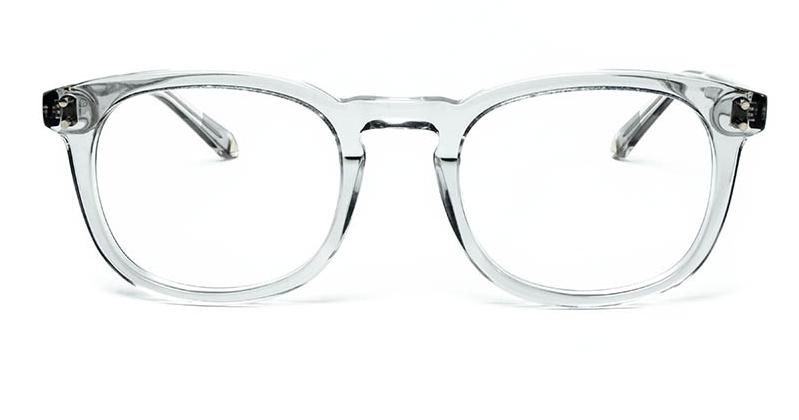 Alexis Amor Syd frames in Light Grey Crystal