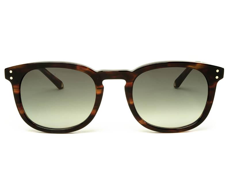 Alexis Amor Syd sunglasses in Caramel Havana Stripe