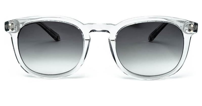Alexis Amor Syd sunglasses in Light Grey Crystal